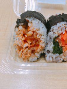 セブンの韓国風海苔巻キムパプ
