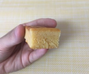 ローソンのブランのチーズケーキ