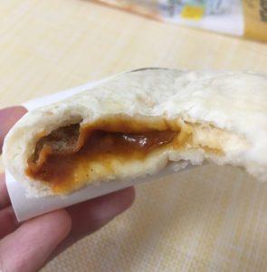 ファミマのピザサンド バターチキンカレー