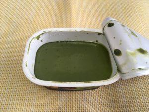 ファミマの感豆腐 大豆のプリン〈抹茶小豆〉