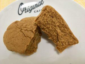 ローソンのブランのキャラメル蒸しケーキ