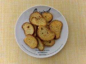 ローソンの北海道産チーズを使ったこんがりラスク