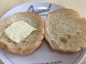 ローソンの大麦ぱん バター入りマーガリンサンド