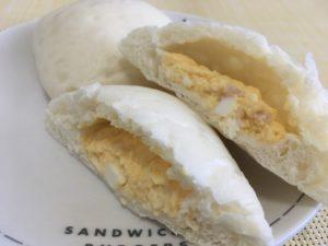 ローソンのハムエッグのしっとりパン
