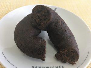 ローソンのブランのドーナツ チョコ