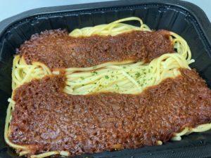 セブンイレブンのスパゲティボロネーゼ