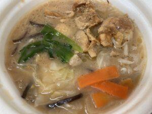 セブンのたんぱく質が摂れる 鶏鍋 豚骨醤油味