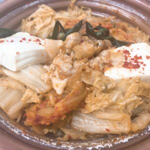 セブンの1/2日分の野菜 辛旨キムチ鍋